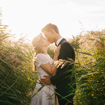 baiser mariés
