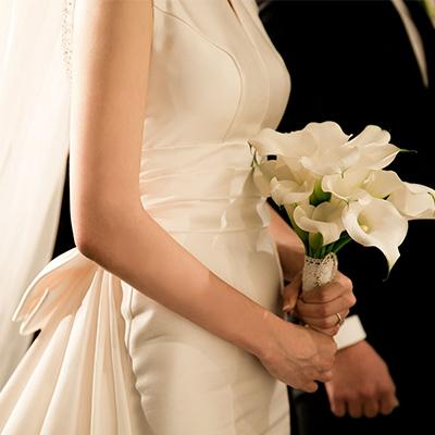 bouquet de mariée arum