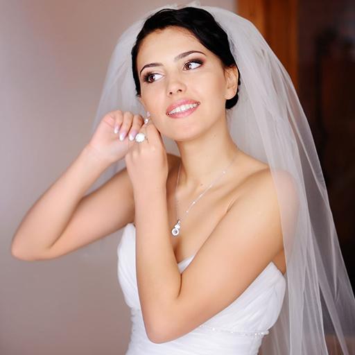 mariée boucle oreille