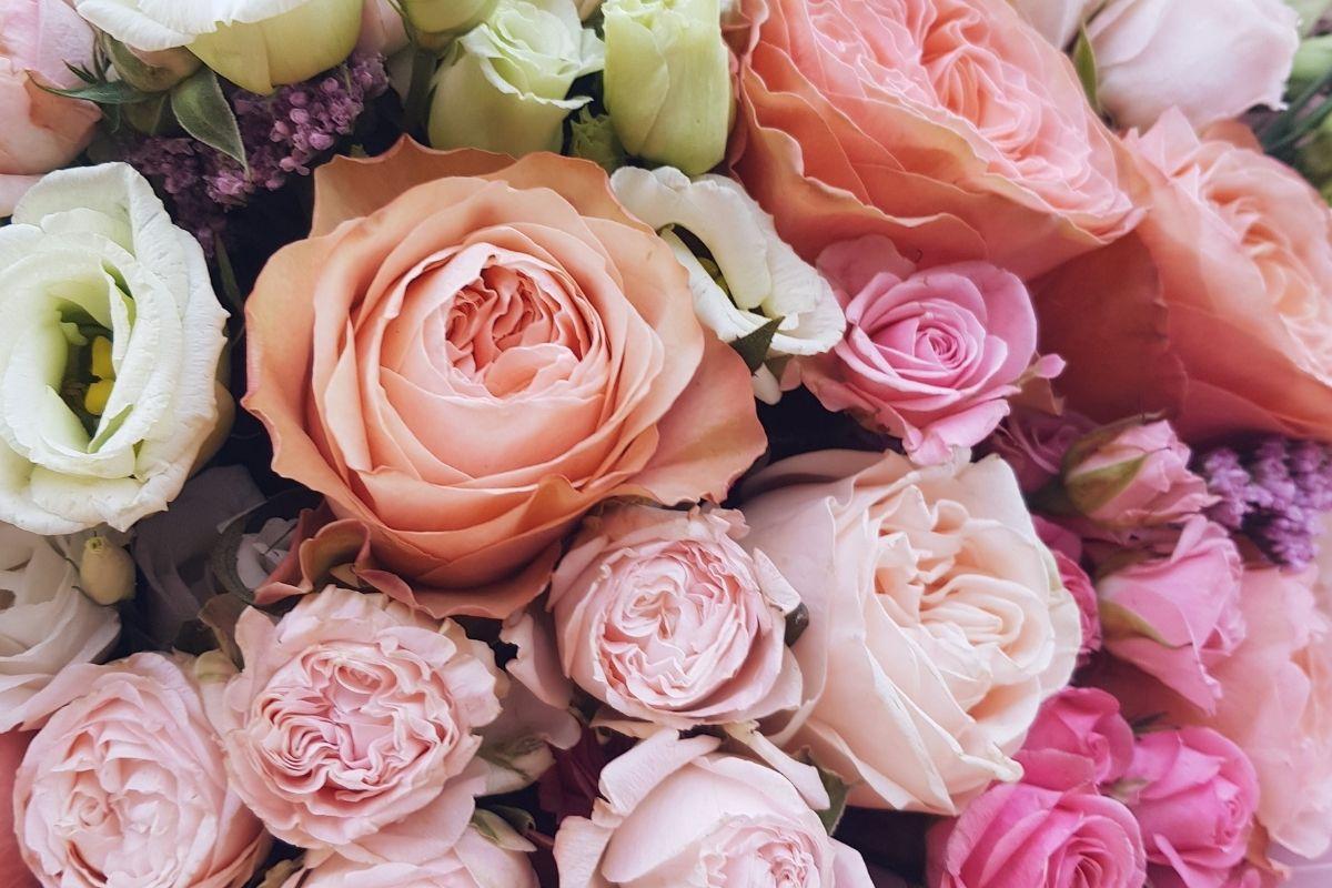 mariage rose sainte-rose fleur bouquet décoration beauté