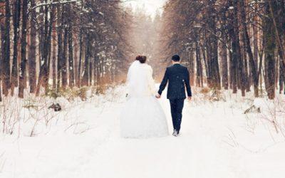 Le mariage en hiver, la vrai bonne idée !